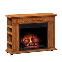 Shop Style Selections 37-in W 4,600-BTU Premium Oak Wood ...