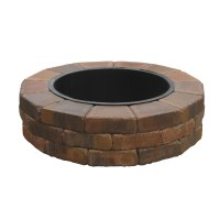 Shop Country Stone Fire Ring Firepit Patio Block Project ...
