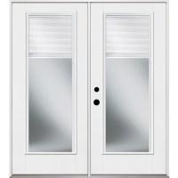 Patio Door: Patio Door With Blinds Between Glass