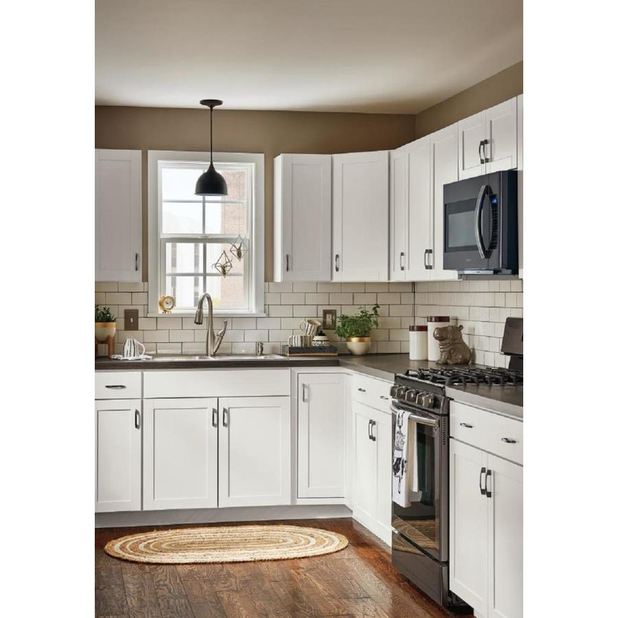 Diamond Now Arcadia 33 In W X 30 In H X 12 In D White Door Wall Stock Cabinet In The Stock Kitchen Cabinets Department At Lowes Com