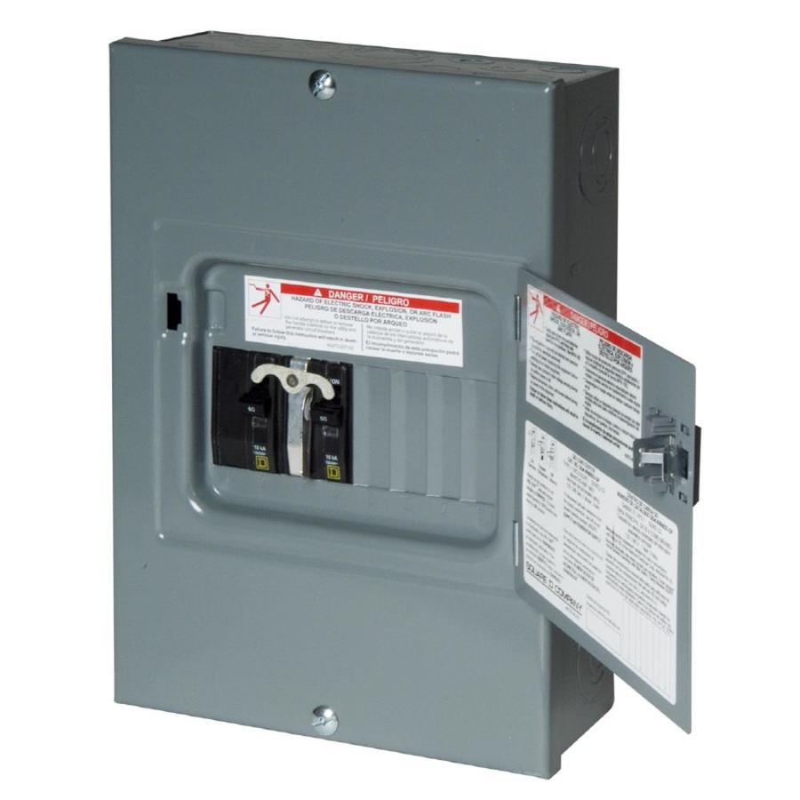 100 Amp Breaker Box Wiring Diagram Label Shop Square D 8 Circuit 8 Space 60 Amp Main Breaker Load