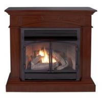 Shop Cedar Ridge Hearth 44.53-in Dual-Burner Vent-Free ...
