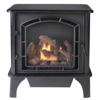 Shop Cedar Ridge Hearth 25.75-in Dual-Burner Vent-Free ...