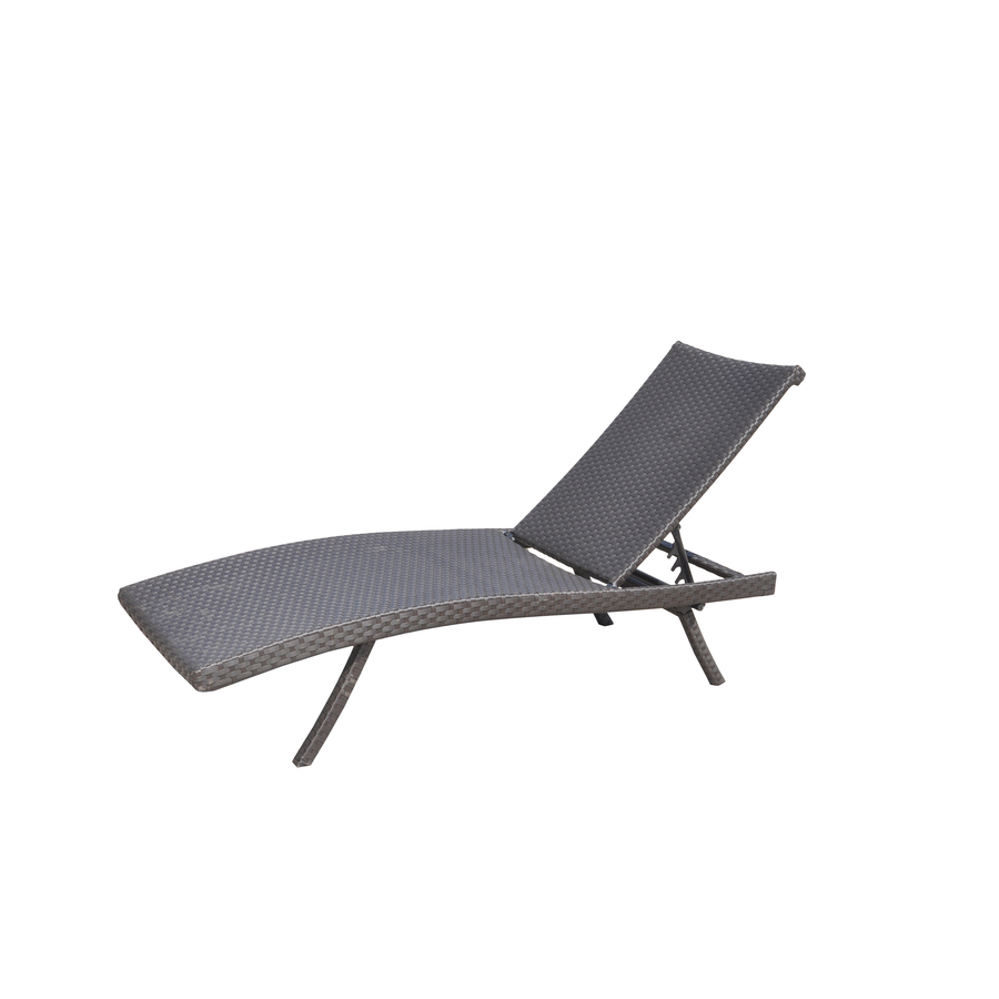 Pool Chaise Lounge Chairs Allen Roth Aluminum Stackable Folding Patio Chaise Lounge Chair
