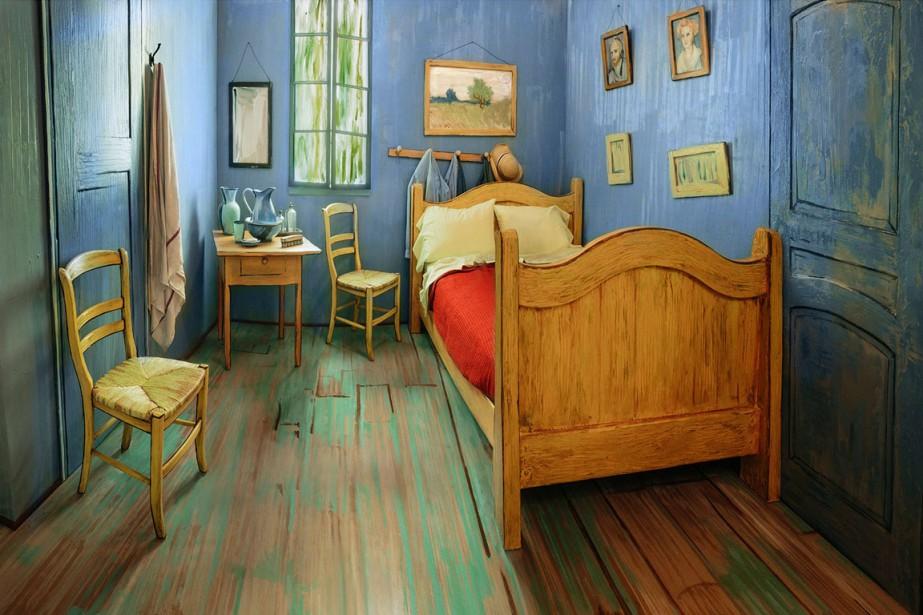 Dormir dans «La chambre de Van Gogh» pour dix dollars la nuit - Description De La Chambre De Van Gogh