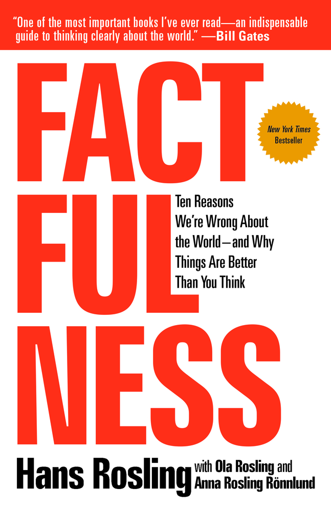 Factfulness Hans Rosling Macmillan