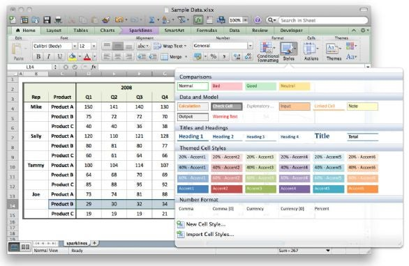 Three must-see Excel 2011 tricks Macworld