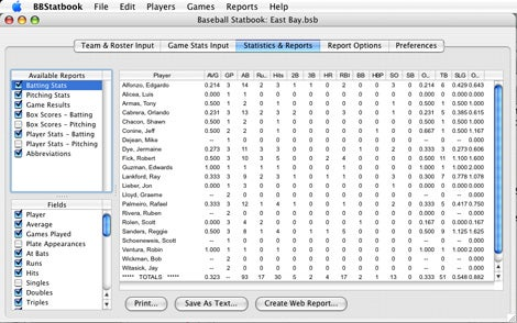 Better baseball stats Macworld