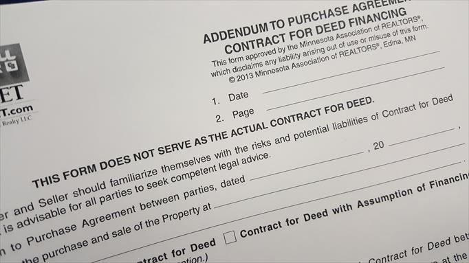 Can you purchase a home with a contract for deed? - home purchase agreement