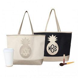 Medium Crop Of Monogrammed Tote Bags