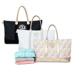 Fullsize Of Monogrammed Tote Bags