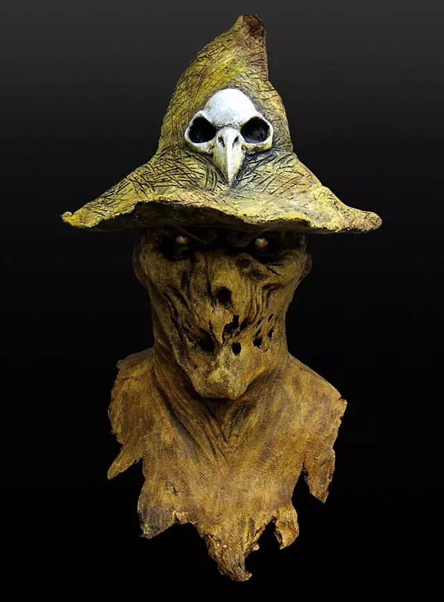 Halloween Sachen Straw Man Mask - Maskworld.com