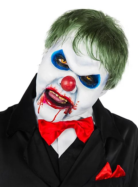 Make Up Schminken Horror Fx Horror Clown Foam Latex Mask - Maskworld.com