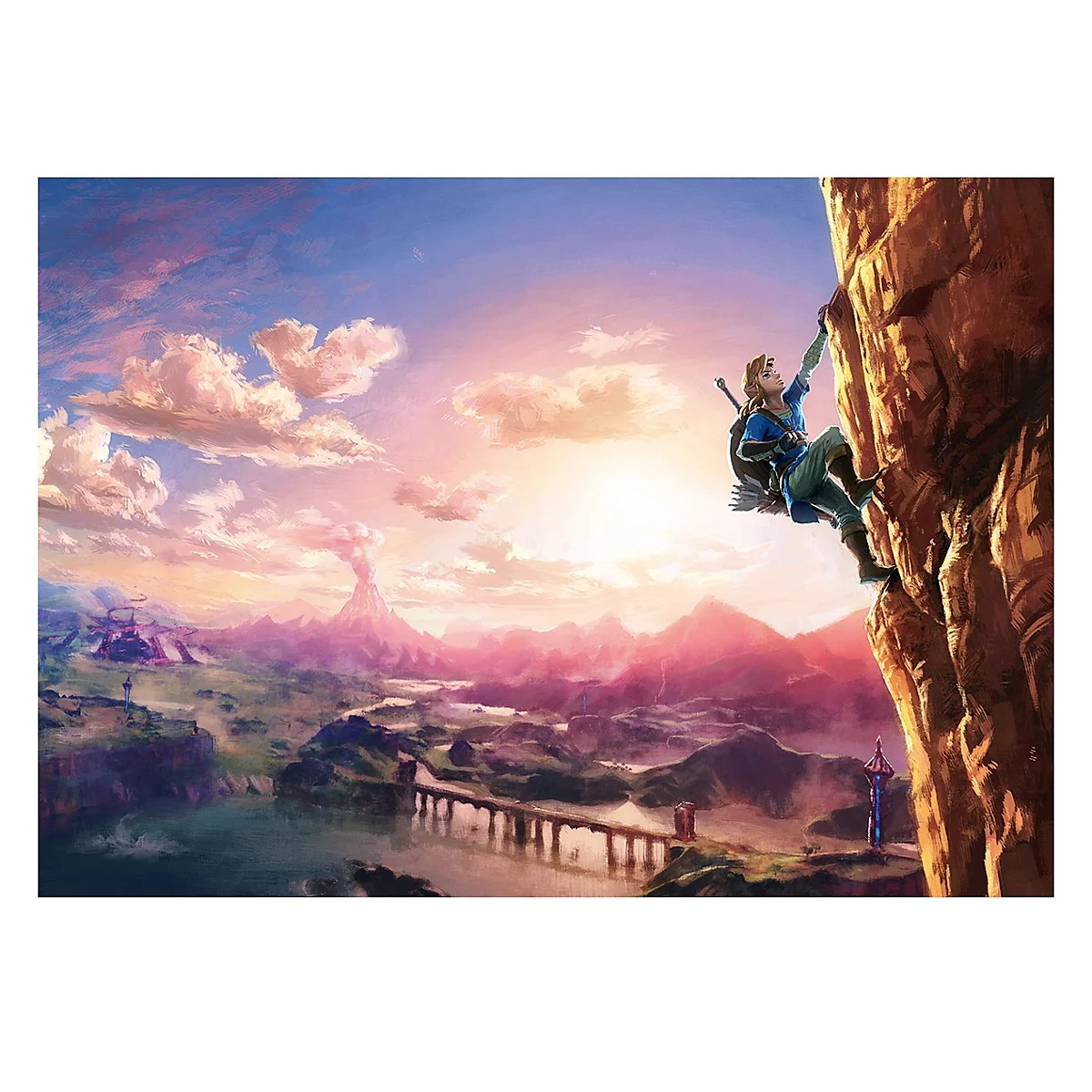 Legend Of Zelda Breath Of The Wild Königliche Küche Zelda Puzzle Breath Of The Wild Mit 500 Teilen