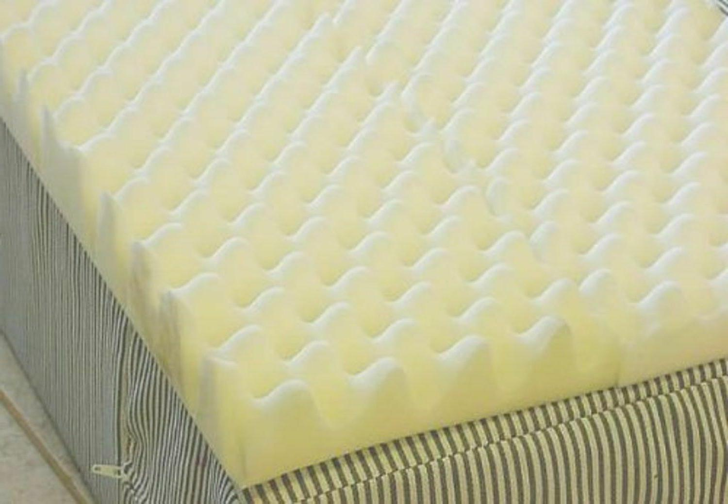 Bed Overlay 4 Inch Foam Twin Bed Pad Mattress Overla