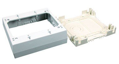 Wiremold Nmw3 2 Double Gang Switch Box