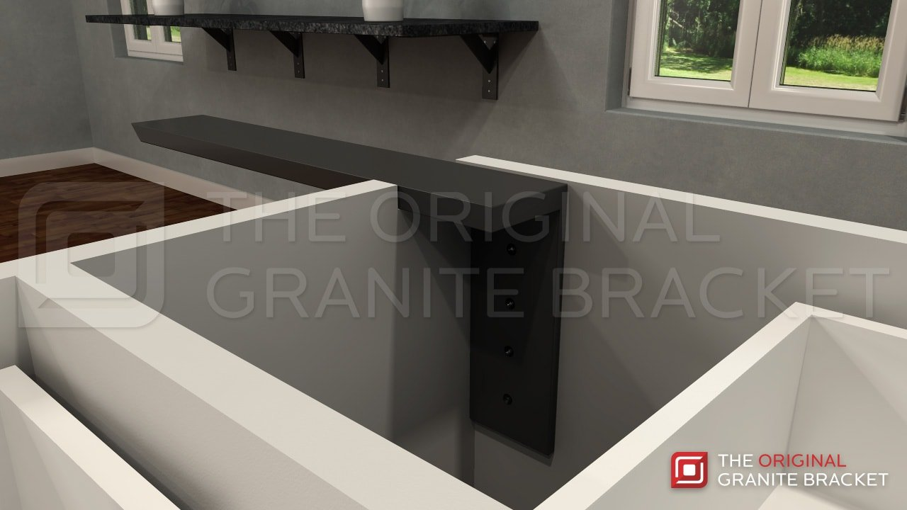 Countertop Support Bracket Side Wall Bracket 8quot Right Angle