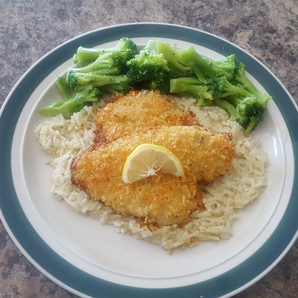Monster World Garten Baked Flounder With Panko And Parmesan Recipe Allrecipes
