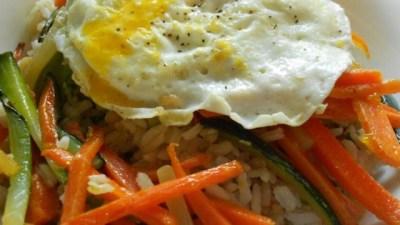 Vegetarian Bibimbap Recipe - Allrecipes.com