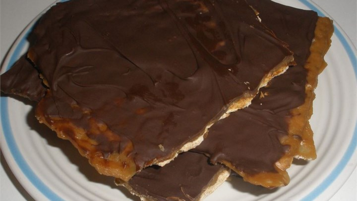 Paleo Amazing Passover Chocolate Toffee Matzo
