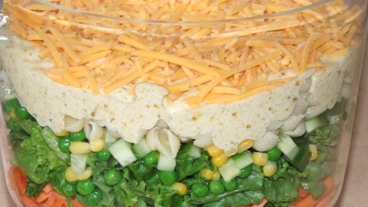Paleo Spicy English Seven-Layer Salad