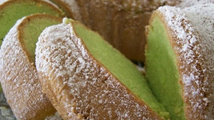 Paleo Pistachio Cake III