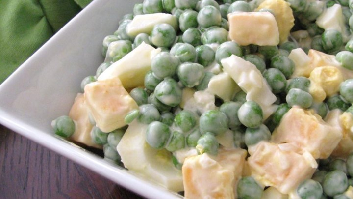 Paleo Vania's Green Pea Salad