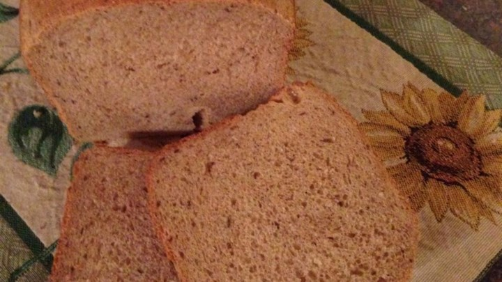 Paleo Caraway Rye Bread (for the bread machine)
