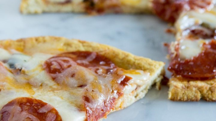 Paleo Chef John's Cauliflower Pizza Crust