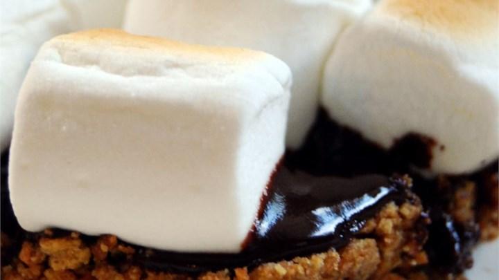Paleo Chocolate Ganache S'mores