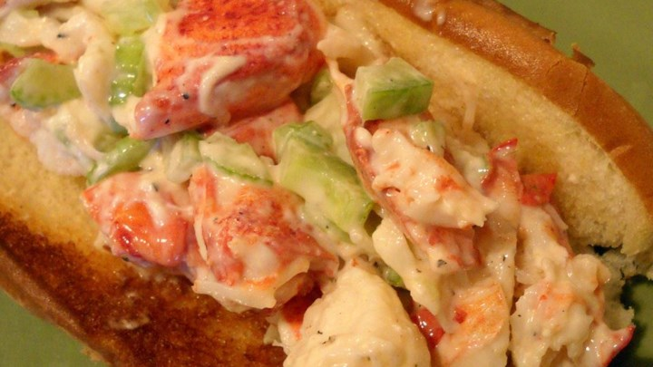 Paleo Lobster Salad with Red Devil Dressing