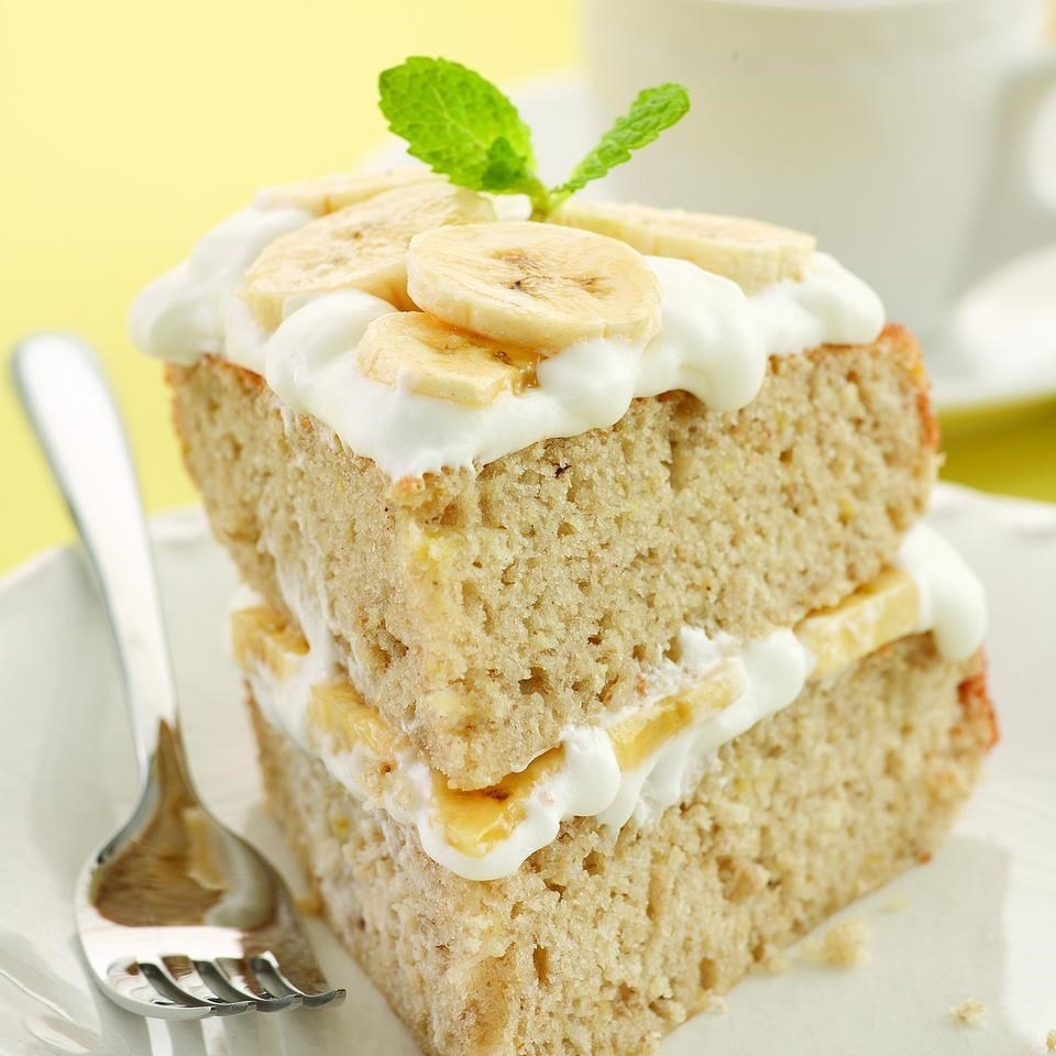 Fullsize Of Banana Cream Cake