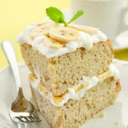 Small Of Banana Cream Cake