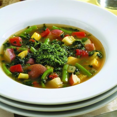 Spicy Vegetable Soup Recipe - EatingWell