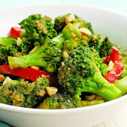 Grand Spicy Broccoli Peanuts Spicy Broccoli Peanuts Recipe Eatingwell Stir Fry Broccoli Mushroom Stir Fry Broccoli Slaw