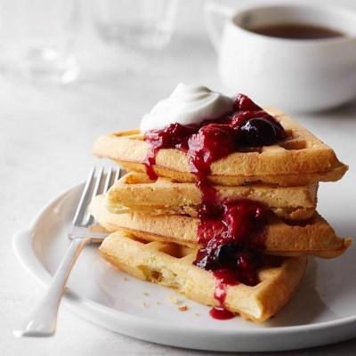 Yeasted Waffles Recipe - EatingWell