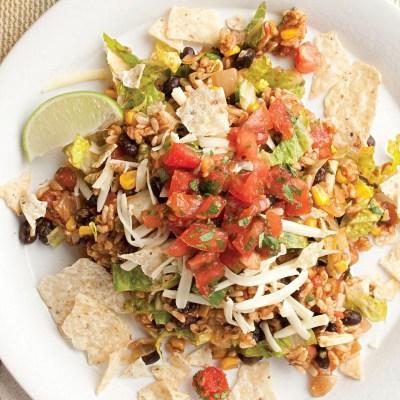 Vegetarian Taco Salad Recipe - EatingWell