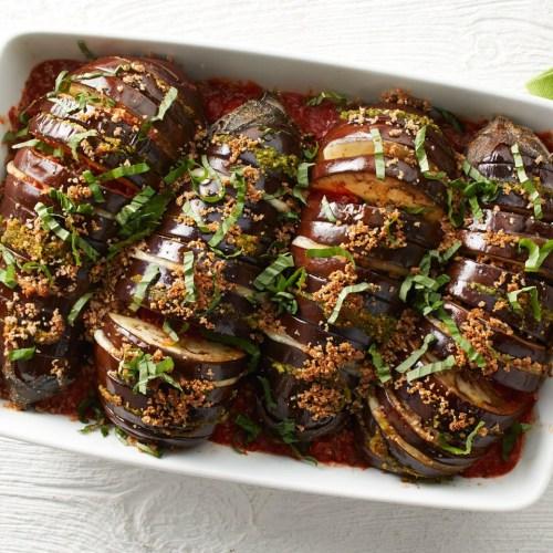 Medium Of Keto Eggplant Parmesan