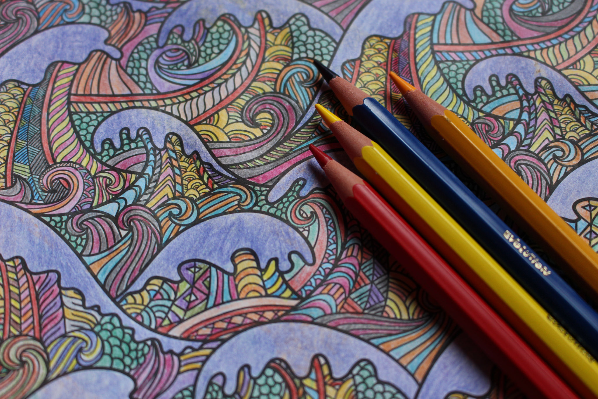 Colouring in for adults examples - Colouring In For Adults Examples 2