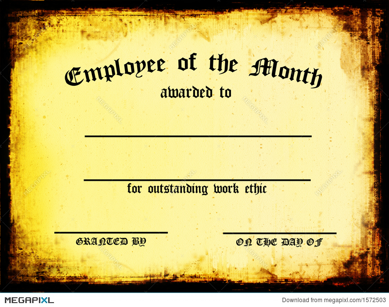 team member of the month certificate - Josemulinohouse - free employee of the month certificate template