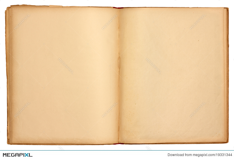 Blank Pages Old Open Book Stock Photo 19331344 - Megapixl