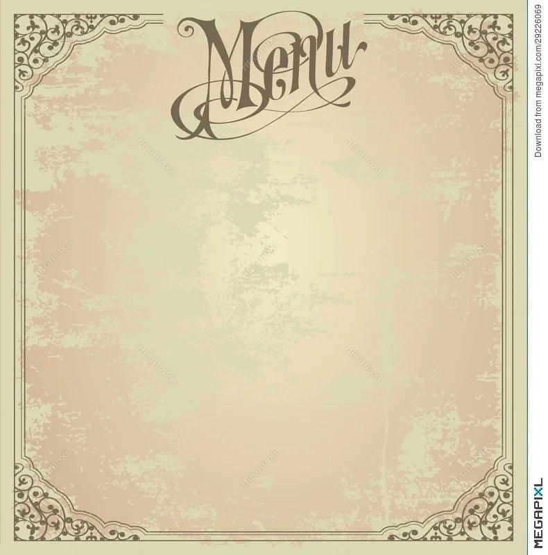 Menu Design Template Illustration 29226069 - Megapixl - menu design template