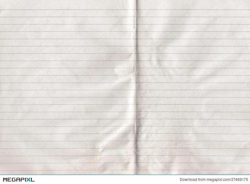 Double Sheet Lined Paper Stock Photo 37469175 - Megapixl