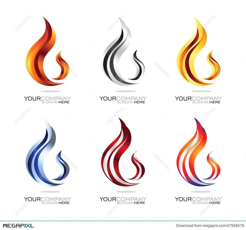 Flame Logo Design Illustration 47508476 - Megapixl - flame logo