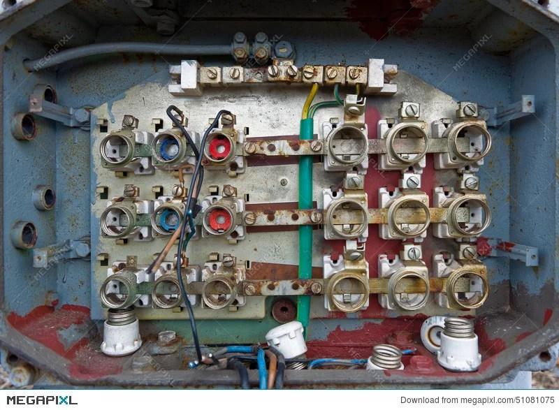 Old Fuse Box Stock Photo 51081075 - Megapixl
