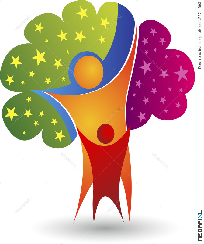 Family Tree Logo Illustration 55711893 - Megapixl