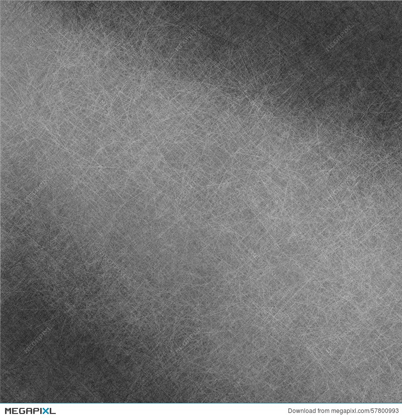 Black Spotlight Background With Scratched Surface Texture In Fine