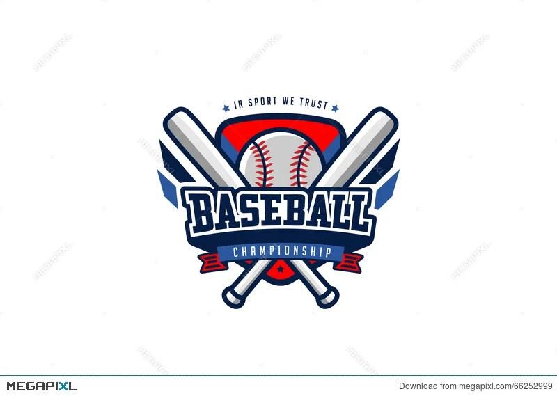 Baseball Badge Logo Design Vector T-Shirt Sport Team Label