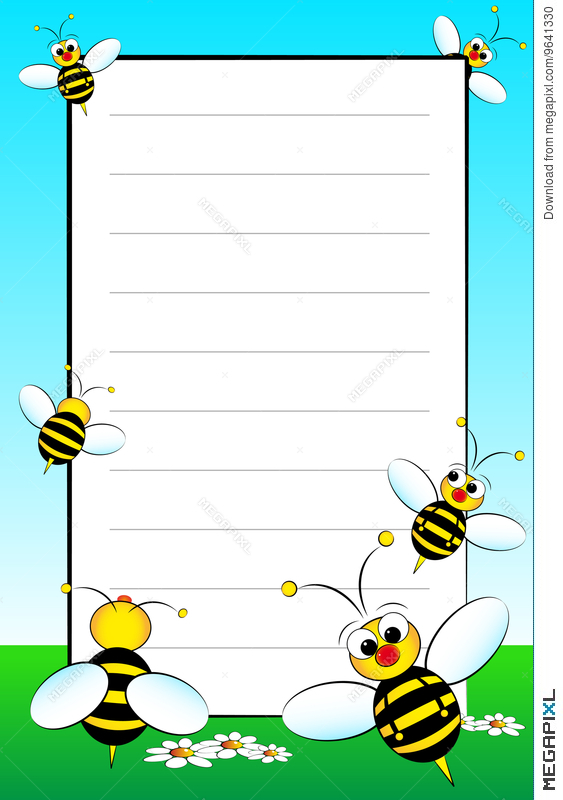 Kid Notebook With Blank Lined Page Illustration 9641330 - Megapixl - lined page