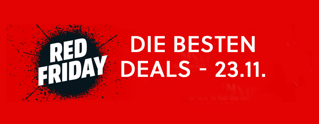 Black Friday Besten Angebote Red Friday, Black Weekend, Amazon - Beste Angebote Am